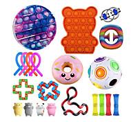abordables -21 pièces jouets sensoriels fidget bundle-ADN balles de soulagement du stress avec des jouets à main fidget pour les enfants anxieux& jouets apaisants pour adultes pour l'anxiété de l'autisme adhd