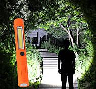 economico -otolampara 50w multifunzione cob led mini penna luce lavoro ispezione torcia led torcia lampada con magnete inferiore e clip guscio nero / rosso / blu / arancio 1 pz