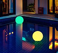 economico -le luci della piscina galleggiante all'aperto hanno condotto la luce della palla gonfiabile luminosa 1x 2x 6x rgb che cambia colore piscina ip67 impermeabile luce decorativa luce del galleggiante