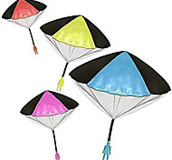 cheap -Parachute Toy No Tangle Throwing toy Parachute flying Toys Parachute Man No Assemble or Batteries Required (4 Pack)