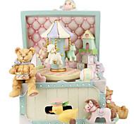 economico -Scatola musicale Phonograph/Gramophone 1 pcs Regalo Decorazioni per la casa Resina Per Per bambini Per adulto Ragazzi e ragazze