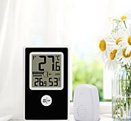 abordables -TS-WS-43 Portable / Multifonction Hygromètres Mesurer la température et l'humidité, Écran LCD rétro-éclairé