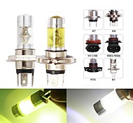 abordables -2pc H4 LED H7 H11 H8 H1 H3 9005 HB3 9006 HB4 Feu antibrouillard de voiture H16 P13W 5202 LED 12smd Auto Driving Light DRL 4300K 6000K Blanc