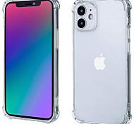 economico -telefono Custodia Per Apple Samsung Galaxy Per retro iPhone 12 Pro Max 11 SE 2020 X XR XS Max 8 7 Resistente agli urti Transparente Trasparente Tinta unita TPU Vetro temperato
