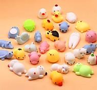 economico -10 pezzi mini cambia colore squishy simpatico gatto antistress palla spremere in aumento abreact morbido appiccicoso giocattoli antistress regalo divertente mochi giocattoli