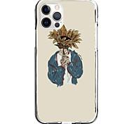 economico -ragazzo hinding behind sunflower case for apple iphone 12 11 se2020 design unico custodia protettiva antiurto cover tpu clear case for iphone 12 pro max xr xs max iphone 8 7