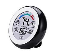 abordables -TS-S93 Portable / Multifonction Hygromètres Mesurer la température et l'humidité, Écran LCD rétro-éclairé