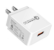 economico -18 W Potenza di uscita USB Caricatore veloce Caricabatterie portatile Portatile Ricarica veloce CE ETL Per Cellulari