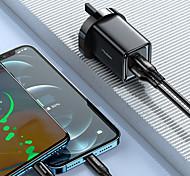 economico -MCDODO 47 W Potenza di uscita USB USB C Caricatore PD Caricatore veloce Caricatore del telefono Caricabatterie fisso Caricabatteria di Muro Portatile QC 3.0 Ricarica veloce CE PSE FCC Per Xiaomi
