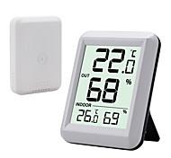 abordables -TS-FT0423 Portable / Multifonction Hygromètres 100m Mesurer la température et l'humidité, Écran LCD rétro-éclairé