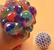 abordables -1 pièces arc-en-ciel anti-stress balle eau perle squeeze jouet pour enfants, adolescents et adultes, fidget jouet outil sensoriel pour la main& poignet pour évacuer l'humeur, soulager le stress,
