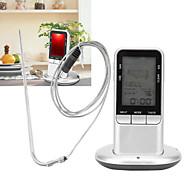 abordables -TS-78 Portable / Elégant Thermomètre BBQ avec alerte, Écran LCD rétro-éclairé, Mesure numérique de la température