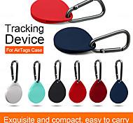economico -custodia protettiva in silicone a forma di goccia compatibile con airtags custodia tracker bluetooth custodia protettiva impermeabile anti-smarrimento per iphone airtags accessorio intelligente