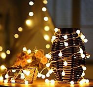 abordables -guirlande lumineuse led petite ampoule étoile 1.5m 10leds 3m 20leds usb ou fonctionnement sur batterie guirlande guirlande lumineuse fée pour noël fête de mariage maison décoration de vacances en