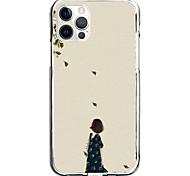 economico -girl in the wind case for apple iphone 12 11 se2020 design unico custodia protettiva antiurto cover tpu clear case for iphone 12 pro max xr xs max iphone 8 7