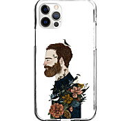 economico -flowers on a man case for apple iphone 12 11 se2020 design unico custodia protettiva antiurto cover tpu clear case for iphone 12 pro max xr xs max iphone 8 7