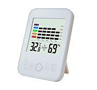 abordables -TS-E02-W Portable / Multifonction Hygromètres Mesurer la température et l'humidité, Écran LCD rétro-éclairé