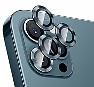economico -telefono Proteggi Schermo Per Apple iPhone 12 iPhone 11 iPhone 12 Pro Max iPhone 11 Pro Max iPhone 12 Pro Vetro temperato 2 pz Luminoso Anti-graffi Protezione dell'obiettivo della fotocamera