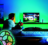 abordables -bandes LED étanches 10m (2x5m) bandes LED flexibles lumières rgb tiktok lumières 2835 600leds 8mm 44keys télécommande ir