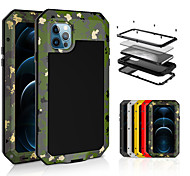 economico -telefono Custodia Per Apple Integrale iPhone 11 Pro Max SE 2020 X XR XS Max 8 7 6 Impermeabile Resistente agli urti Resistente all'acqua Armatura Resistente Vetro temperato PC Metallo
