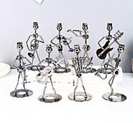 abordables -8pcs créatif bande de fer forgé ornements bureau maison de collection