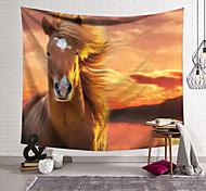 abordables -Tapisserie murale art décor couverture rideau suspendu maison chambre salon décoration polyester cheval