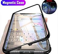 economico -telefono Custodia Per Apple Integrale Custodia ad adsorbimento magnetico iPhone 12 Pro Max 11 SE 2020 X XR XS Max 8 7 6 Resistente agli urti Con chiusura magnetica Transparente Transparente Resistente