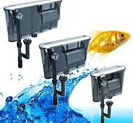 abordables -Aquarium Aquarium Filtre Aspirateur Ajustable Bruit faible Plastique Coton Métal 1 pc 220-240 V