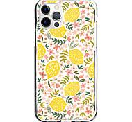 economico -lemon case for apple iphone 12 11 se2020 design unico custodia protettiva antiurto cover tpu clear case for iphone 12 pro max xr xs max iphone 8 7