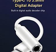 economico -Sonoro Audio da 3,5 mm Adattatore Normale 1.5 A 0.5m (1.5ft) TPE Per Samsung Xiaomi Huawei Appendini per cellulare
