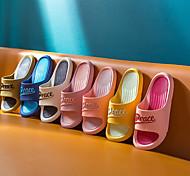 economico -pantofole da casa quattro stagioni pantofole antiscivolo da bagno di casa versione coreana delle pantofole da esterno a due colori in rete rossa