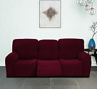 abordables -housse de fauteuil inclinable à carreaux imperméable élastique transfrontalière housse de protection de canapé simple housse d'inclinaison épaissie pour trois personnes