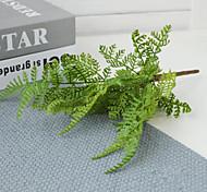 economico -simulazione di simulazione di fiori di piante acquatiche fascio di felci di pino 1 ramo 26 * 15 cm