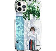 economico -street girl case for apple iphone 12 11 se2020 design unico custodia protettiva antiurto custodia tpu clear case for iphone 12 pro max xr xs max iphone 8 7