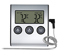 abordables -TS-BN50 Portable / Elégant Thermomètre BBQ Écran LCD rétro-éclairé, Mesure numérique de la température