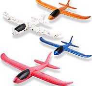 economico -4 pezzi di aeroplani da 14,5 pollici, lancio manuale di giocattoli sportivi all'aria aperta per impegnativi, giochi per bambini alianti giocattolo divertente, aereo aliante per bambini, regalo di