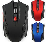 economico -Gamer mouse ottico wireless da 2000 dpi 2,4 ghz per computer portatili da gioco per pc mouse wireless da gioco nuovo con ricevitore usb drop shipping mause