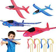 economico -4 pezzi catapulta aereo fionda, 2 modalità di volo aliante aereo 2 modi per giocare a giocattolo volante all'aperto per bambini come regalo
