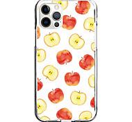 economico -Bello Frutta Astuccio Per Apple iPhone 12 iPhone 11 iPhone 12 Pro Max Design unico Custodia protettiva Resistente agli urti A prova di sporco Fantasia / disegno Per retro TPU