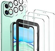 economico -Pellicola in vetro temperato 3 pezzi + protezione per obiettivo fotocamera 3 pezzi per iphone12 / iphone 11 protezione schermo hd per iphone 12pro max / 12 mini / iphone 11 pro max