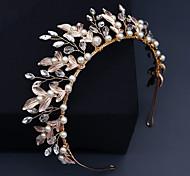 economico -Lusso Matrimonio Perla Accessori per capelli con Con diamantini / Dettagli con perline 1 pezzo Matrimonio / Occasioni speciali Copricapo