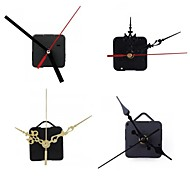 abordables -2 pcs Quartz Horloge Mouvement Mécanisme Silencieux Grande Horloge Murale Mains Horloge Réparation Outil Pièces Kit Ensemble DIY Accessoires Pour La Maison