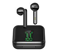 economico -X15 Auricolari wireless Cuffie TWS Bluetooth 5.1 Stereo Dotato di microfono Con il controllo del volume per Apple Samsung Huawei Xiaomi MI Cellulare