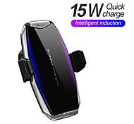economico -15 W Potenza di uscita Caricatore senza fili Caricabatterie per auto wireless Caricatore senza fili Per Per cellulare