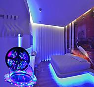 abordables -LED bande lumières 5m rgb tiktok lumières lumières 24w 2835 8mm 24key kit de contrôleur ir avec ligne de connecteur mâle DC