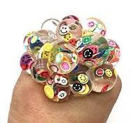 abordables -6 cm Anti-Stress Squishy Ball Drôle Tranche De Fruits Raisin Squeeze Humeur Autisme Enfants Adulte Jouer Vent Jouets Pour Cadeau