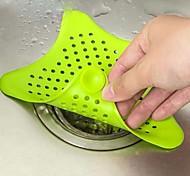 abordables -filtre à cheveux star bathroom drain hair catcher bain bouchon bouchon évier crépine filtre évier bouchon de vidange douche baignoire étage bouchon d'eau en caoutchouc cuisine