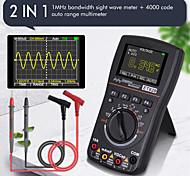 economico -et828 2 in 1 oscilloscopio multimetro digitale 1 mhz 2,5 msps schermo a colori dc / ac corrente tensione resistenza frequenza diodo test