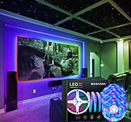 economico -luci a strisce principali sincronizzazione musicale luci led intelligenti rgb 15m (3x5m) luci tiktok 900leds smd 2835 cambia colore con 24 tasti controller bluetooth remoto per la casa