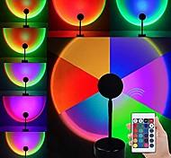 economico -Luce del proiettore Lampada al tramonto Controllato da remoto Colori dimmerabili Feste Palco Per eventi Colori primari